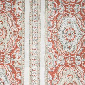 Pedana Stripe colourn 03 Terracotta & sage