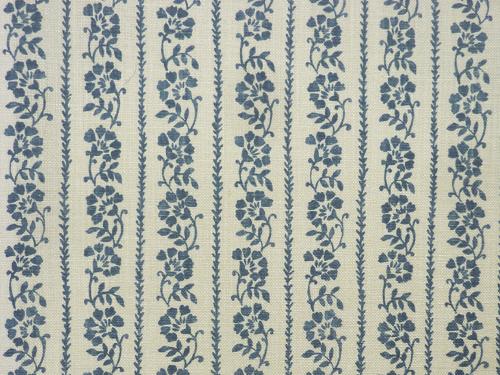 Floral Stripe colour 04 Denim