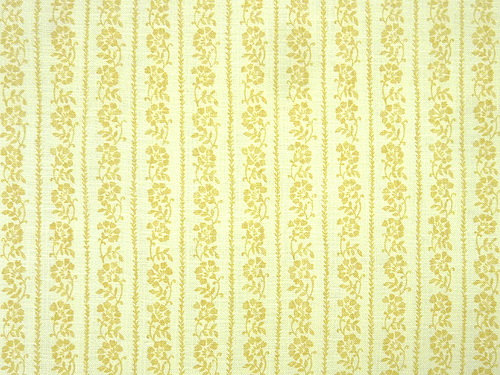 Floral Stripe colour 06 Yellow
