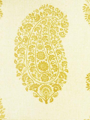 Paisley colour 06 Yellow
