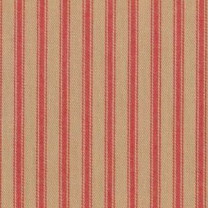 Ticking Stripe colour 18 Rouge