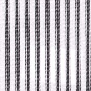 Ticking Stripe colour 15 Black