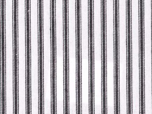 Ticking Stripe colour 15 Black