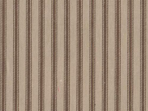 Ticking Stripe colour 19 Walnut