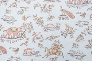 Gujarat colour 03 Paprika & Yellow Ochre