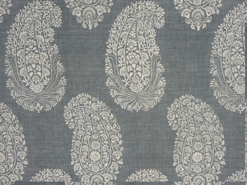Paisley Ground colour 03 Charcoal