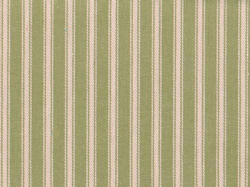 Ticking Stripe colour 10 Green