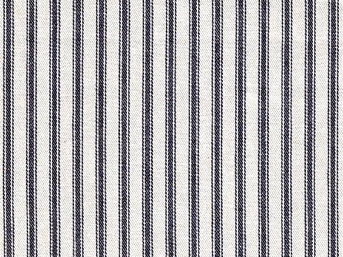 Ticking Stripe colour 14 Navy