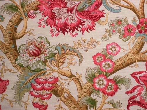 Tree of Life colour 02 Rose & linen